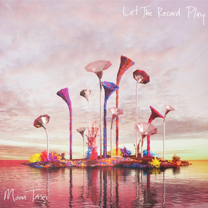 "This cover image released by RCA shows ""Let the Record Play,"" a release by Moon Taxi. (RCA via AP)"
