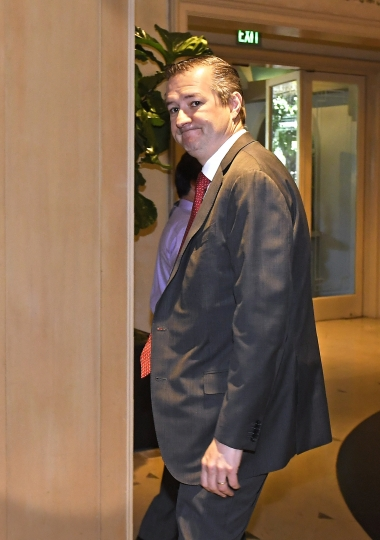 Chicago Cubs owner Tom Ricketts attends the Major League Baseball owners meetings at the Four Seasons Hotel, Thursday, Feb. 1, 2018, in Los Angeles. (AP Photo/Mark J. Terrill)