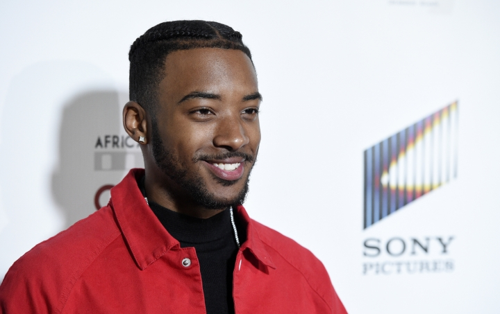 Actor Algee Smith poses at the 9th Annual African American Film Critics Association Awards on Wednesday, Feb. 7, 2018, in Los Angeles. (Photo by Chris Pizzello/Invision/AP)