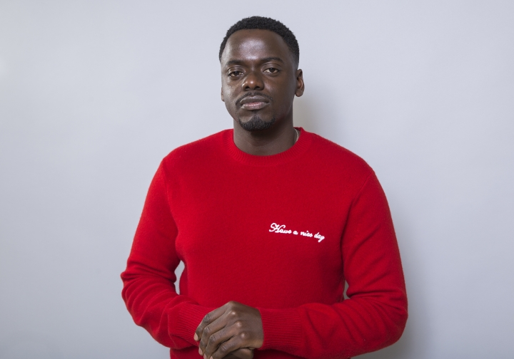 "Daniel Kaluuya poses for a portrait at the ""Black Panther"" press junket at the Montage Beverly Hills on Tuesday, Jan. 30, 2018, in Beverly Hills, Calif. (Photo by Willy Sanjuan/Invision/AP)"