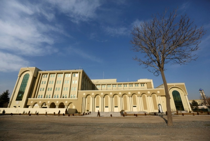 FILE PHOTO: View of Afghanistan's Ministry of Defence (MOD) in Kabul, Afghanistan, February 7, 2016.  REUTERS/Omar Sobhani/ File photo