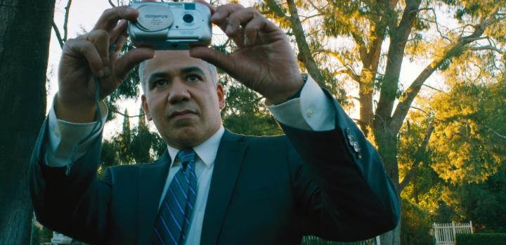 "This image released by Bleecker Street shows John Ortiz in a scene from ""Nostalgia."" (Bleecker Street via AP)"