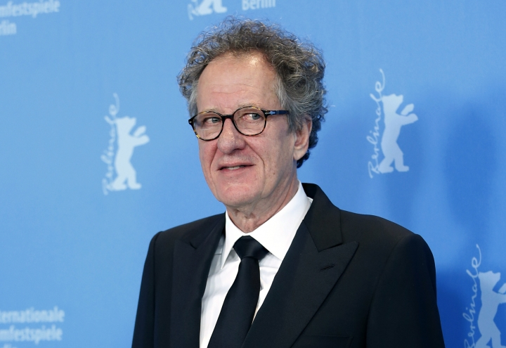"FILE - In this Tuesday, Feb. 12, 2013 file photo, actor Geoffrey Rush poses at the photo call for the film The Best Offer at the 63rd edition of the Berlinale, International Film Festival in Berlin. A lawyer has accused Geoffrey Rush in a court of repeatedly touching an actress inappropriately on an Sydney stage three years ago while the Oscar-winning actor was starring in a production of ""King Lear"" it was announced on Monday, Feb. 19, 2018 Rush is suing Sydney's The Daily Telegraph newspaper in the Federal Court for defamation over articles last year which alleged(AP Photo/Michael Sohn, file)"
