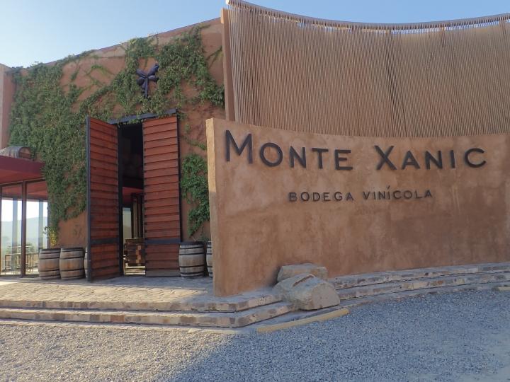 This Oct. 16, 2017 photo shows the entrance to the Monte Xanic winery in Valle de Guadalupe, Ensenada Municipality, Baja California, Mexico. (AP Photo/Nicole Evatt)