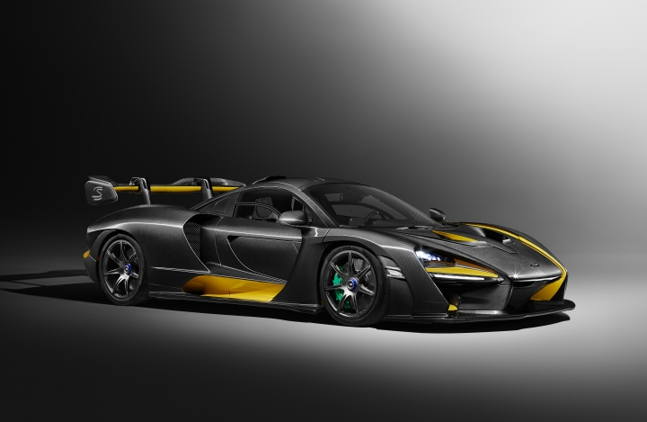 The undated image provided in a press release by McLaren shows a McLaren Senna which will premiere at the Geneva Car show. The 800 horsepower turbocharged V8 engine car will be shown during press days of the Geneva International Motor Show Monday evening through Wednesday; the show opens to the public on Thursday and runs through March 18. (McLaren via AP)