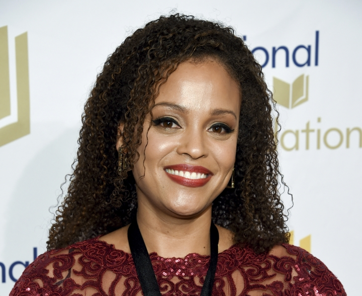 "FILE - In this Nov. 15, 2017 file photo, author Jesmyn Ward attends the 68th National Book Awards Ceremony and Benefit Dinner in New York. Ward's novel ""Sing, Unburied, Sing"" was among five finalists announced Wednesday for the PEN/Faulkner prize. Ward won the National Book Award last fall and is a nominee for the National Book Critics Circle prize, to be announced next week. (Photo by Evan Agostini/Invision/AP, File)"
