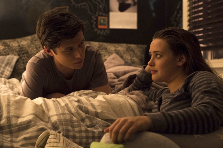 "This image released by Twentieth Century Fox shows Nick Robinson, left, and Katherine Langford in ""Love, Simon."" (Ben Rothstein/Twentieth Century Fox via AP)"