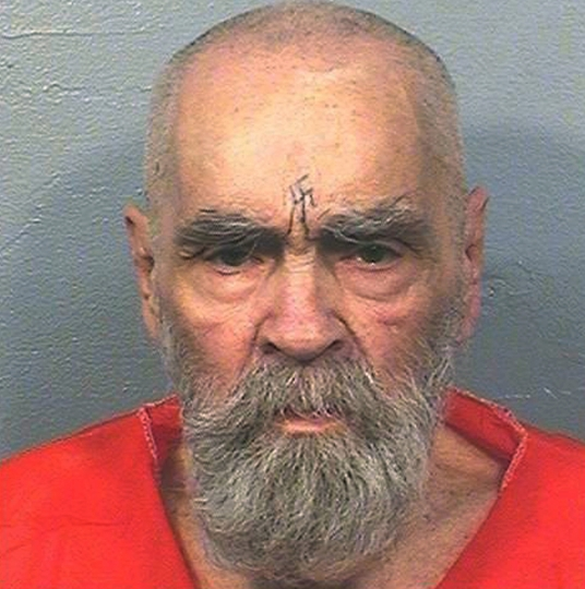 FILE - This Aug. 14, 2017, file photo provided by the California Department of Corrections and Rehabilitation shows Charles Manson. A Kern County Superior Court commissioner ruled Monday, March 12, 2018, that Jason Freeman of Florida can collect the remains of Charles Manson from the morgue in Bakersfield, Calif. (California Department of Corrections and Rehabilitation via AP, File)