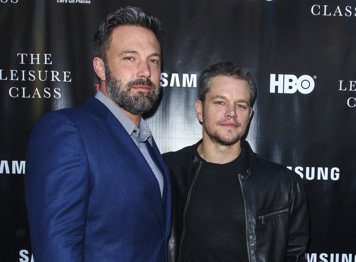 "FILE - In this Aug. 10, 2015 file photo, Ben Affleck, left, and Matt Damon attend the ""Project Greenlight"" premiere of ""The Leisure Class"" in Los Angeles. Damon, Ben Affleck and Paul Feig are jumping on the inclusion rider bandwagon following Frances McDormand's Oscar acceptance speech. Franshen Cox DiGiovanni said late Monday on Twitter that Damon and Affleck's production company Pearl Street Films would be adopting the inclusion rider in conjunction with USC's Annenberg Inclusion Initiative. (Photo by Paul A. Hebert/Invision/AP, File)"