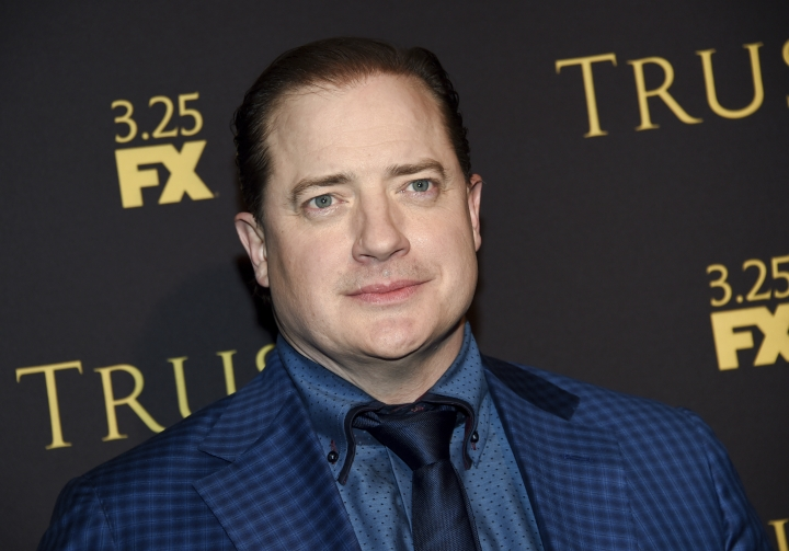 "Actor Brendan Fraser attends a special screening of FX Networks' ""Trust"" at Florence Gould Hall on Wednesday, March 14, 2018, in New York. Fraser said he feels a sense of relief after recently revealing he was the victim of alleged sexual misconduct. (Photo by Evan Agostini/Invision/AP)"
