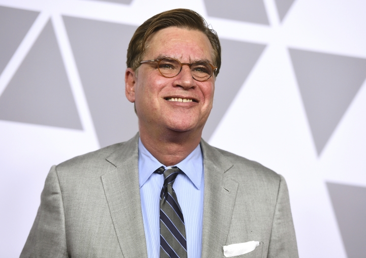 "FILE - In this Feb. 5, 2018 file photo, Aaron Sorkin arrives at the 90th Academy Awards Nominees Luncheon at The Beverly Hilton hotel in Beverly Hills, Calif. The estate of ""To Kill a Mockingbird"" author Harper Lee has filed suit over an upcoming Broadway adaptation of the novel set to open in Dec. 2018. The federal lawsuit filed this week in Alabama argues that screenwriter Sorkin's script wrongly alters Atticus Finch and other characters from the book. (Photo by Jordan Strauss/Invision/AP, File)"