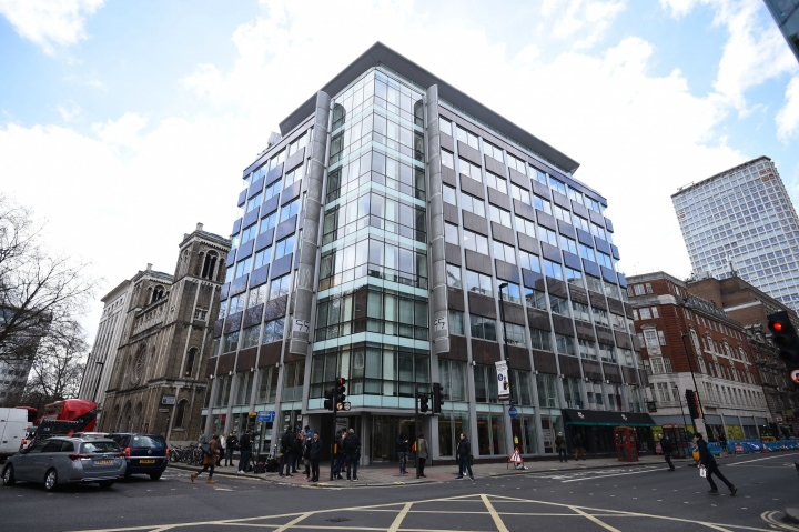 The offices of Cambridge Analytica (CA) in central London, after it was announced that Britain's information commissioner Elizabeth Denham is pursuing a warrant to search Cambridge Analytica's computer servers, Tuesday March 20, 2018. Denham said Tuesday that she is using all her legal powers to investigate Facebook and political campaign consultants Cambridge Analytica over the alleged misuse of millions of people's data. Cambridge Analytica said it is committed to helping the U.K. investigation. (Kirsty O'Connor/PA via AP)
