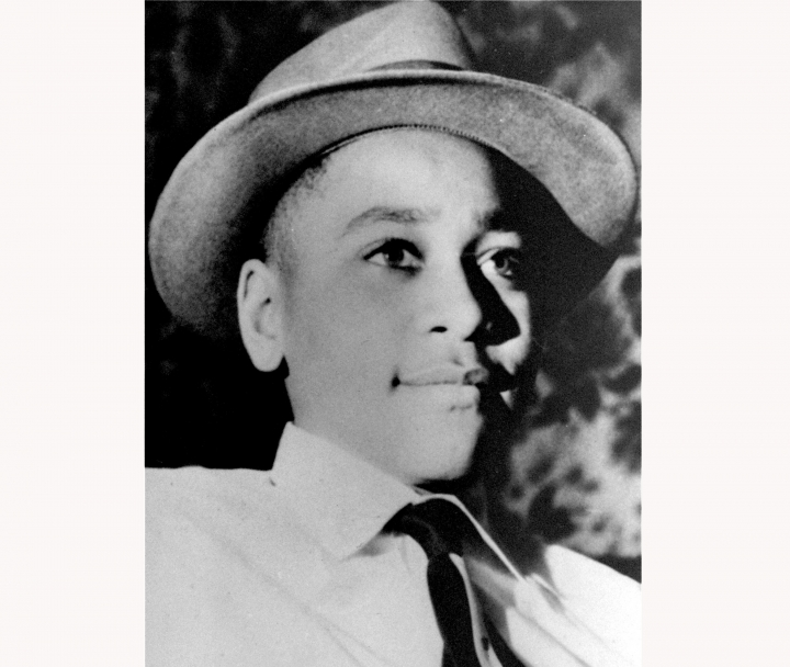 "FILE - This undated photo shows Emmett Louis Till, a black 14-year-old Chicago boy, who was kidnapped, tortured and murdered in 1955 after he allegedly whistled at a white woman in Mississippi. Photos of his tortured body propelled the civil rights effort and is the subject of an NBC documentary """"Hope & Fury,"" premiering Saturday. (AP Photo, File)"