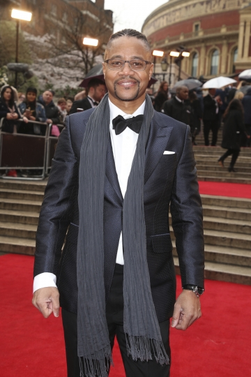 Actor Cuba Gooding Jr. poses for photographers upon arrival at the Olivier Awards in London, Sunday, April 8, 2018. (Photo by Joel C Ryan/Invision/AP)