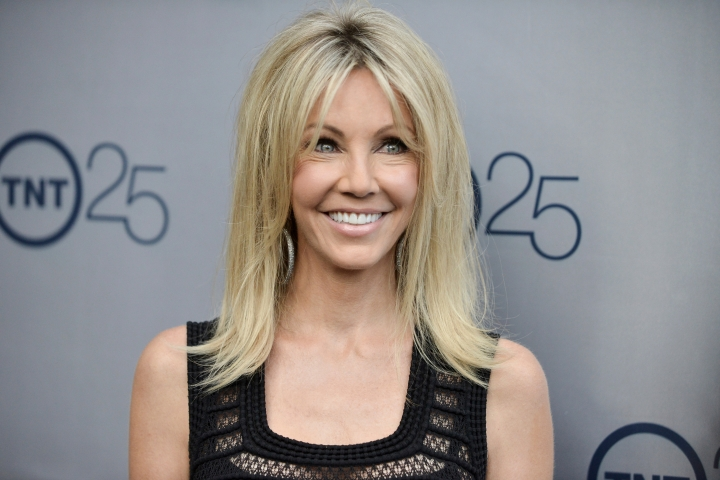 FILE - In a July 24, 2013 file photo, Heather Locklear arrives at the TNT 25th Anniversary Party at The Beverly Hilton Hotel in Los Angeles. Locklear has pleaded not guilty to attacking deputies who answered a domestic violence call at her Southern California home. Locklear's attorney entered the plea on her behalf in Ventura County Superior Court on Thursday to four misdemeanor counts of battery on an officer. A pretrial hearing is scheduled June 7. (Photo by Richard Shotwell/Invision/AP, File)