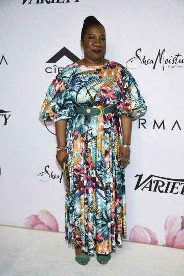 Activist Tarana Burke attends Variety's Power of Women: New York event at Cipriani Wall Street on Friday, April 13, 2018, in New York. (Photo by Evan Agostini/Invision/AP)
