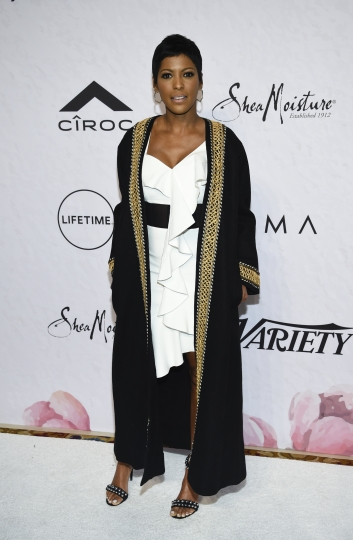 Honoree Tamron Hall attends Variety's Power of Women: New York event at Cipriani Wall Street on Friday, April 13, 2018, in New York. (Photo by Evan Agostini/Invision/AP)