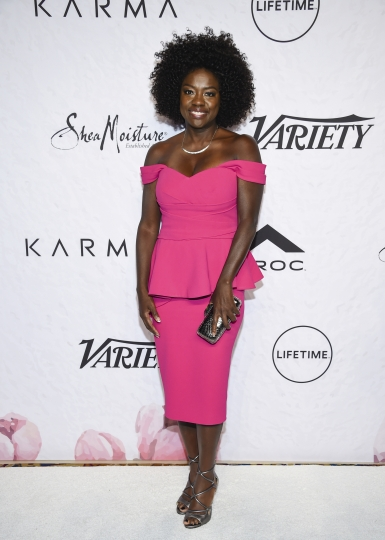 Actress Viola Davis attends Variety's Power of Women: New York event at Cipriani Wall Street on Friday, April 13, 2018, in New York. (Photo by Evan Agostini/Invision/AP)