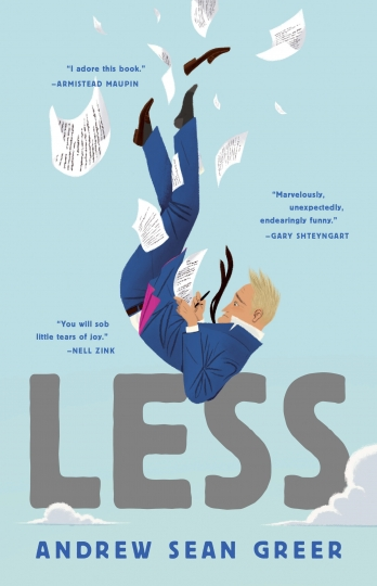 "This cover image released by Lee Boudreaux Books shows ""Less,"" a novel by Andrew Sean Greer. On Monday, April 16, 2018, Greer won the Pulitzer Prize for fiction for his book. (Lee Boudreaux Books/Little Brown and Company via AP)"