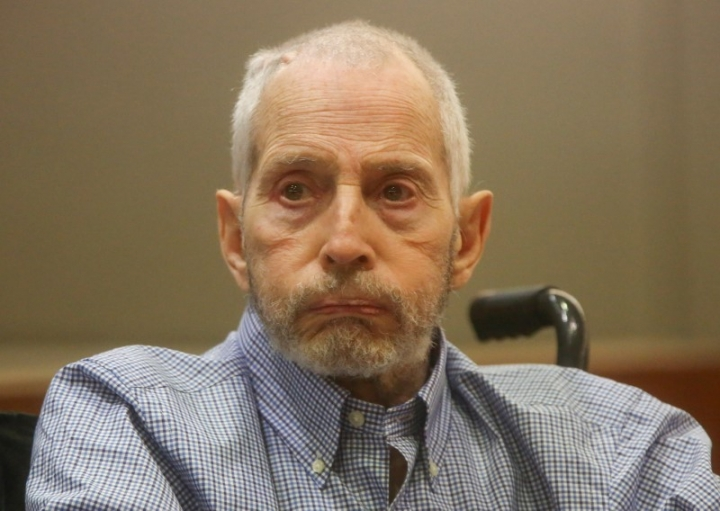 FILE PHOTO - New York real estate scion Robert Durst appears in the Los Angeles Superior Court Airport Branch for a pre-trial motions hearing in Los Angeles, California, January 6, 2017   REUTERS/Mark Boster /Los Angeles Times/Pool/File Photo