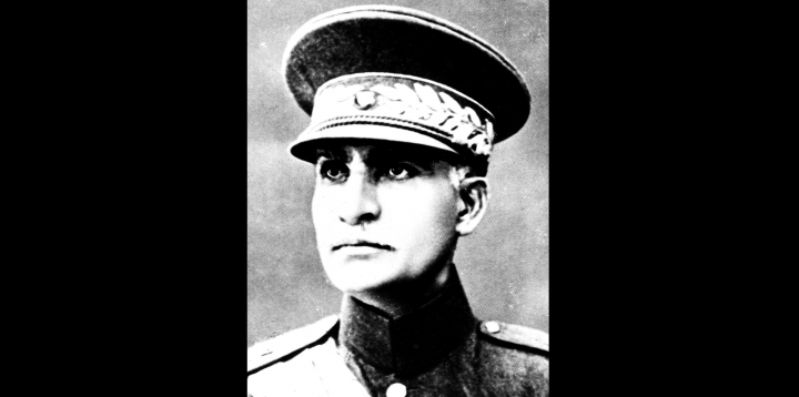 FILE- This is an undated file photo of Reza Shah Pahlavi in an unidentified place. The discovery in Iran of a mummified body near the site of a former royal mausoleum has raised speculation it could be the remains of the late Reza Shah Pahlavi, founder of the Pahlavi dynasty. (AP Photo, File)