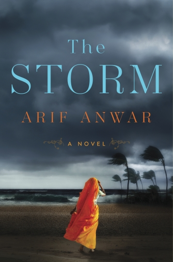 "This cover image released by Atria Books shows ""The Storm,"" by Arif Anwar. (Atria Books via AP)"