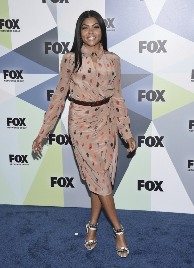 Taraji P. Henson attends the Fox Networks Group 2018 programming presentation afterparty at Wollman Rink in Central Park on Monday, May 14, 2018, in New York. (Photo by Evan Agostini/Invision/AP)