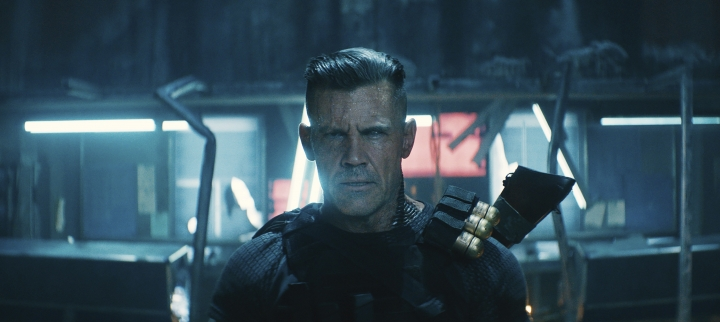"This image released by Twentieth Century Fox shows Josh Brolin in a scene from ""Deadpool 2."" (Twentieth Century Fox via AP)"