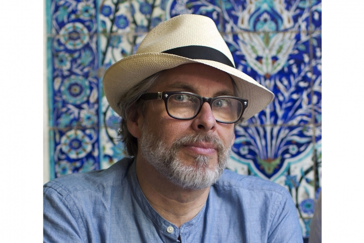 FILE - In this June 18, 2017 file photo, authors Michael Chabon posse for a photo in Jerusalem. Chabon, Louise Erdrich and Ann Patchett are among the contributors to an anthology commemorating the upcoming 100th anniversary of the American Civil Liberties Union. Simon & Schuster announced Thursday, May 17, 2018, that the book is currently untitled and will be published in 2020, one hundred years after the ACLU's founding. (AP Photo/Oded Balilty, File)