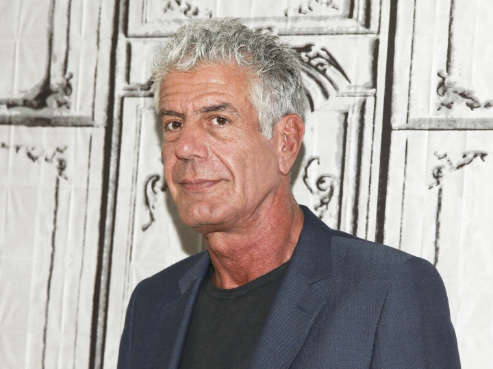 "FILE - In this Nov. 2, 2016, file photo, Anthony Bourdain participates in the BUILD Speaker Series to discuss the online film series ""Raw Craft"" at AOL Studios in New York. Bourdain has been found dead in his hotel room in France, Friday, June 8, 2018, while working on his CNN series on culinary traditions around the world. (Photo by Andy Kropa/Invision/AP, File)"