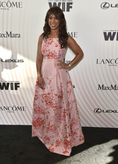 ABC President Channing Dungey arrives at the Women In Film Crystal and Lucy Awards at the Beverly Hilton Hotel on Wednesday, June 13, 2018, in Beverly Hills, Calif. (Photo by Chris Pizzello/Invision/AP)