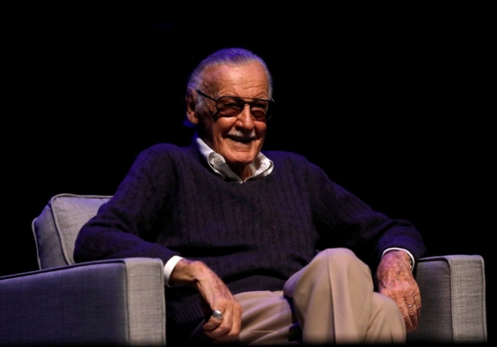 "FILE PHOTO - Marvel Comics co-creator Stan Lee attends a tribute event ""Extraordinary: Stan Lee"" at the Saban Theatre in Beverly Hills, California, U.S., August 22, 2017. REUTERS/Mario Anzuoni/File Picture"