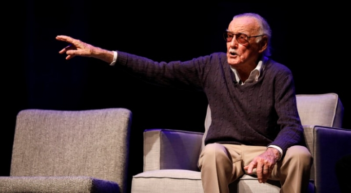"""FILE PHOTO: Marvel Comics co-creator Stan Lee attends a tribute event """"Extraordinary: Stan Lee"""" at the Saban Theatre in Beverly Hills, California, U.S., August 22, 2017. REUTERS/Mario Anzuoni"""