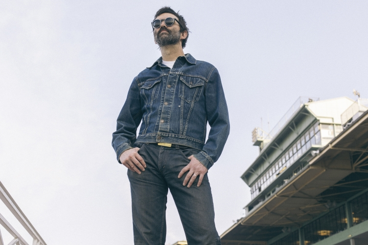 This undated image released by E Works Records shows Mark Oliver Everett of the band Eels. (E Works Records via AP)