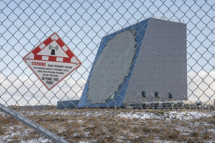In this Nov. 27, 2017, photo released by the U.S. Northern Command Alaskan NORAD Region/Alaskan Command/11th Air Force shows the Cobra Dane radar, a single faced ground-based, L-band phased-array radar located at Eareckson Air Station, Shemya, Alaska. The U.S. military wants to install missile defense radar, similar to this one shown, in Hawaii to identify any ballistic missiles that are fired from North Korea or elsewhere, officials said Tuesday, June 26, 2018. (Chief Petty Officer Brandon Raile/U.S. Air Force via AP)