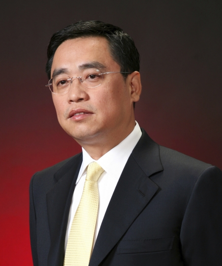 This undated photo provided on Wednesday, July 4, 2018, by the HNA Group shows HNA Group co-chairman Wang Jian. The co-chairman of HNA Group, a conglomerate that operates China's fourth-largest airline and finance, logistics and other businesses around the world, has died on Tuesday, July 3, 2018, in an accident while on a business trip in France, the company announced Wednesday. (HNA Group via AP)