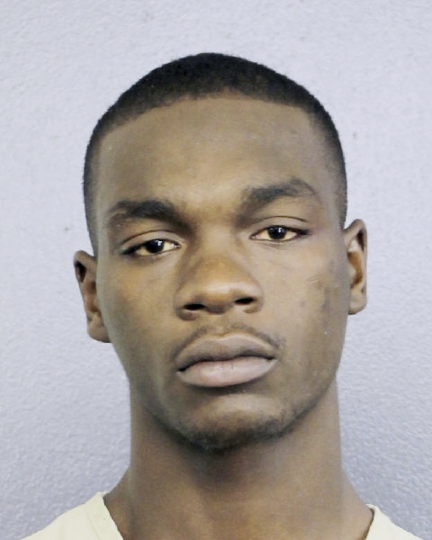 This July 5, 2018 booking photo, made available by the Broward County Sheriff's, Fla., office, shows Michael Boatwright, who is facing a first-degree murder charge in the killing of emerging rap star XXXTentacion. Boatwright was initially arrested on an unrelated drug charge. (Broward County Sheriff's Office via AP)