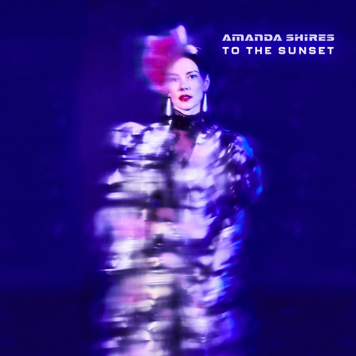"This cover image released by Silver Knife/Thirty Tigers shows ""To The Sunset,"" a release by Amanda Shires. (Silver Knife/Thirty Tigers via AP)"