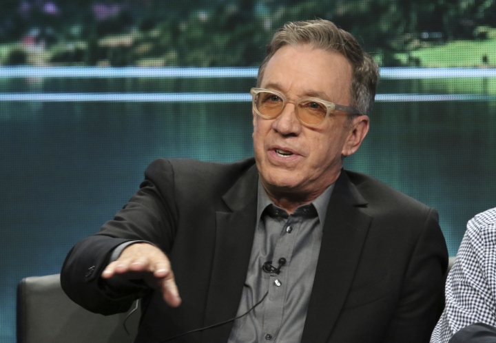 """Tim Allen participates in the """"Last Man Standing"""" panel during the Fox Television Critics Association Summer Press Tour at The Beverly Hilton hotel on Thursday, Aug. 2, 2018, in Beverly Hills, Calif. (Photo by Willy Sanjuan/Invision/AP)"""