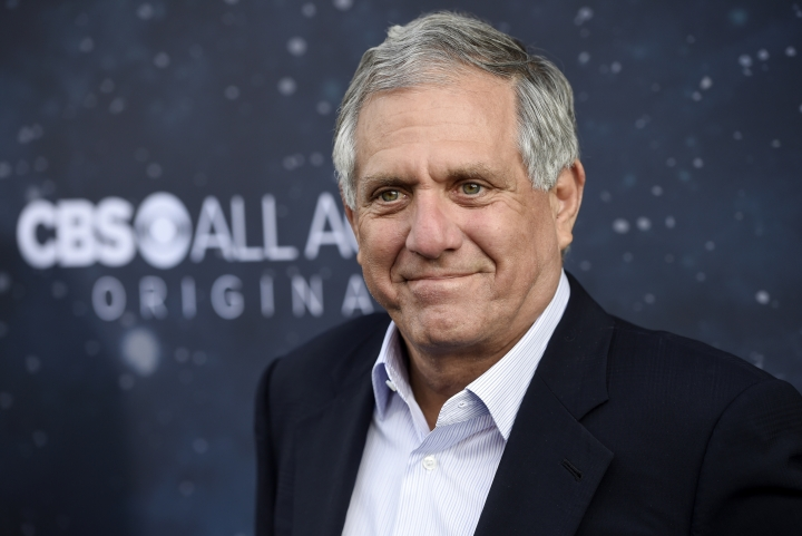 """CORRECTS THAT JEFF FAGEN, NOT MOONVES, IS DELAYING HIS REUTN FROM VACATION - FILE - In this Sept. 19, 2017 file photo, Les Moonves, chairman and CEO of CBS Corporation, poses at the premiere of the new television series """"Star Trek: Discovery"""" in Los Angeles. """"60 Minutes"""" Executive Producer Jeff Fager is delaying his return from vacation until a probe into sexual misconduct claims wraps up. On Sunday, Aug. 5, 2018, the network said Fager will not return from his scheduled vacation Monday as planned. Allegations against Fager and Moonves appeared in a New Yorker article in July. (Photo by Chris Pizzello/Invision/AP, File)"""