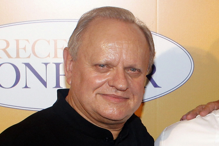 "FILE - In this Sept.7, 2014 file photo, French chef Joel Robuchon poses for photographers during a photocall for the movie ""The Hundred-Foot Journey"", in Paris, Sunday, Sept. 7, 2014. French master chef Joel Robuchon has died at the age of 73. (AP Photo/Thibault Camus, File)"