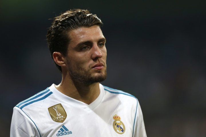 FILE - In this Wednesday, Sept. 13, 2017 file photo Real Madrid's Mateo Kovacic leaves the pitch after being injured during a Champions League group H soccer match between Real Madrid and Apoel Nicosia at the Santiago Bernabeu stadium in Madrid, Spain. It has been reported on Thursday, Aug. 9, 2018 that Chelsea has signed Croatia midfielder Mateo Kovacic on loan from Real Madrid for the season. The move was completed on the final day of the summer transfer window in the Premier League. (AP Photo/Francisco Seco, File)