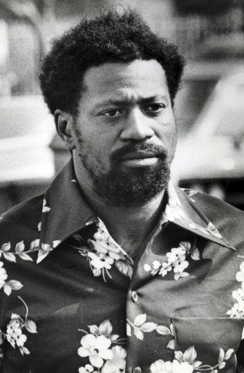 """FILE – This Sept. 1979, file photo shows Bobby Joe Maxwell, who was sentenced to life in prison without the possibility of parole in a series of slayings known as the """"Skid Row"""" stabbing in Los Angeles. A judge has agreed to dismiss murder charges against Maxwell suspected of killing 10 homeless men in Los Angeles in the 1970s because he only has six months to live. Los Angeles County Superior Court Judge Larry Fidler dismissed Maxwell's case on Friday, Aug. 10, 2018, following a request from prosecutors. (AP Photo/Reed Saxon, File)"""