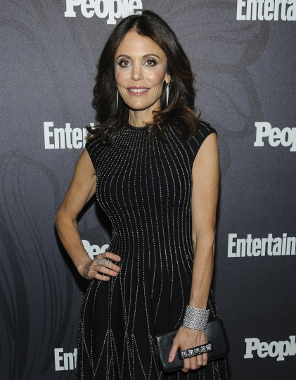 FILE - In this May 14, 2018 file photo Bethenny Frankel poses at the Entertainment Weekly and People 2018 Upfronts Celebration in New York. Authorities are investigating the suspected overdose death at Trump Tower of a man romantically linked to the reality TV personality. (Photo by Christopher Smith/Invision/AP, File)