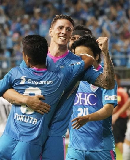 Torres Opens J League Account As Sagan Tosu Beats Osaka 3 0 Sports Frontal Report