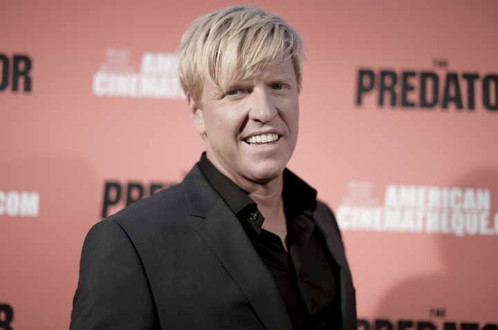 """Jake Busey attends a special screening of """"The Predator"""" at Grauman's Egyptian Theatre on Wednesday, Sept. 12, 2018, in Los Angeles. (Photo by Richard Shotwell/Invision/AP)"""