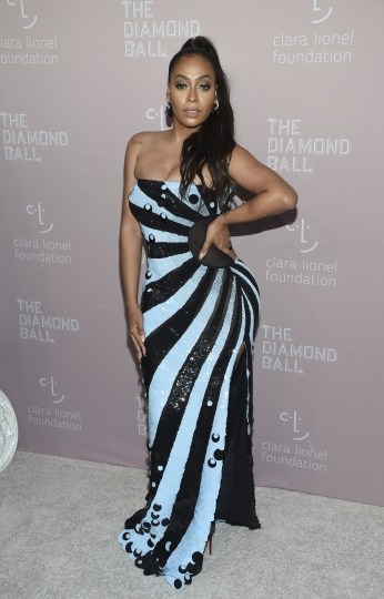 La La Anthony attends the 4th annual Diamond Ball at Cipriani Wall Street on Thursday, Sept. 13, 2018, in New York. (Photo by Evan Agostini/Invision/AP)
