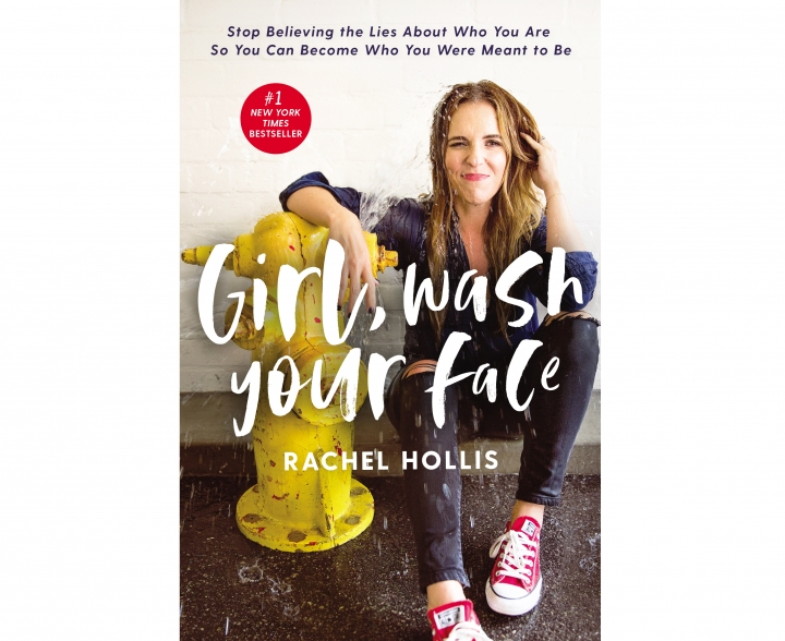 """This cover image released by Thomas Nelson shows """"Girl, Wash Your Face: Stop Believing the Lies About Who You Are so You Can Become Who You Were Meant to Be,"""" by Rachel Hollis. (Thomas Nelson via AP)"""
