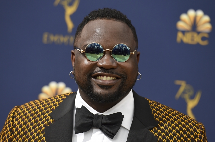 Brian Tyree Henry arrives at the 70th Primetime Emmy Awards on Monday, Sept. 17, 2018, at the Microsoft Theater in Los Angeles. (Photo by Jordan Strauss/Invision/AP)