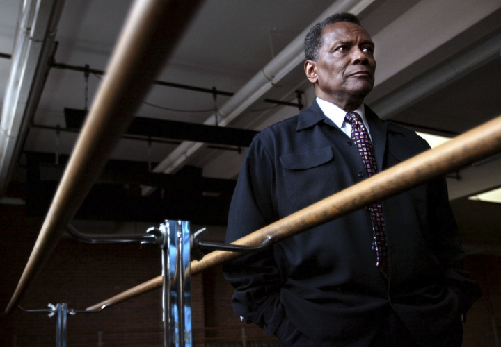 FILE - In this Oct. 21, 2004 file photo, Arthur Mitchell, co-founder of the Dance Theatre of Harlem appears in New York. Mitchell, who broke barriers for African-Americans in the 1950s as a ballet dancer with the New York City Ballet and who would go on to become a driving force in the creation of the Dance Theatre of Harlem, died Wednesday at a New York City hospital. He was 84. According to his niece, Juli Mills-Ross, his death came after renal failure led to heart failure. (AP Photo/Bebeto Matthews, File)
